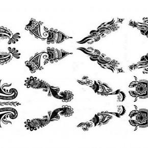 Stylish Henna Tattoo Stencil Designs Pictures