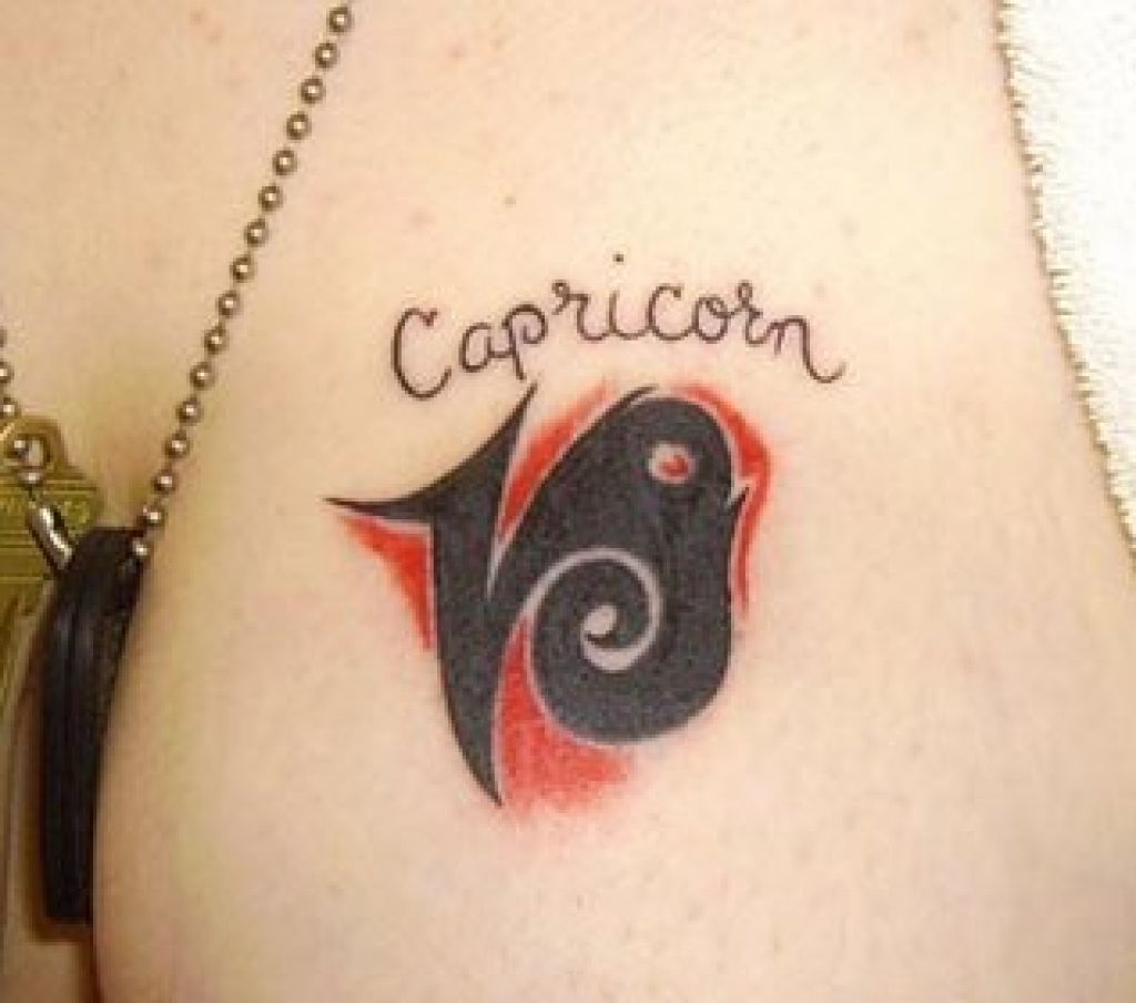 Tattoo Art Body Capricorn Tattoos Pictures