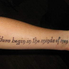 Tattoo Quotes For Hands Design Pictures