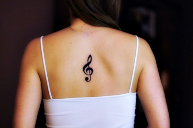 Tatuegam The Notas Musicais Small Tattoos