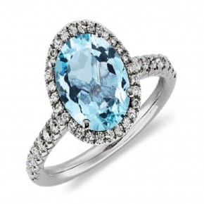 Tiffany Blue Round Ring Ideas Pictures