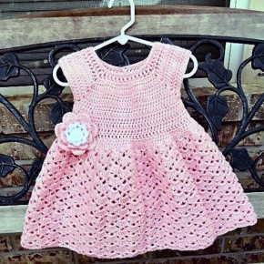 Toddler Crochet Dresses Models Pictures