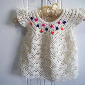 Toddler Crochet Dresses Patterns Pictures