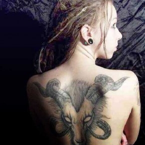 Tribal Zodiac Symbol Tattoo Designs Pictures