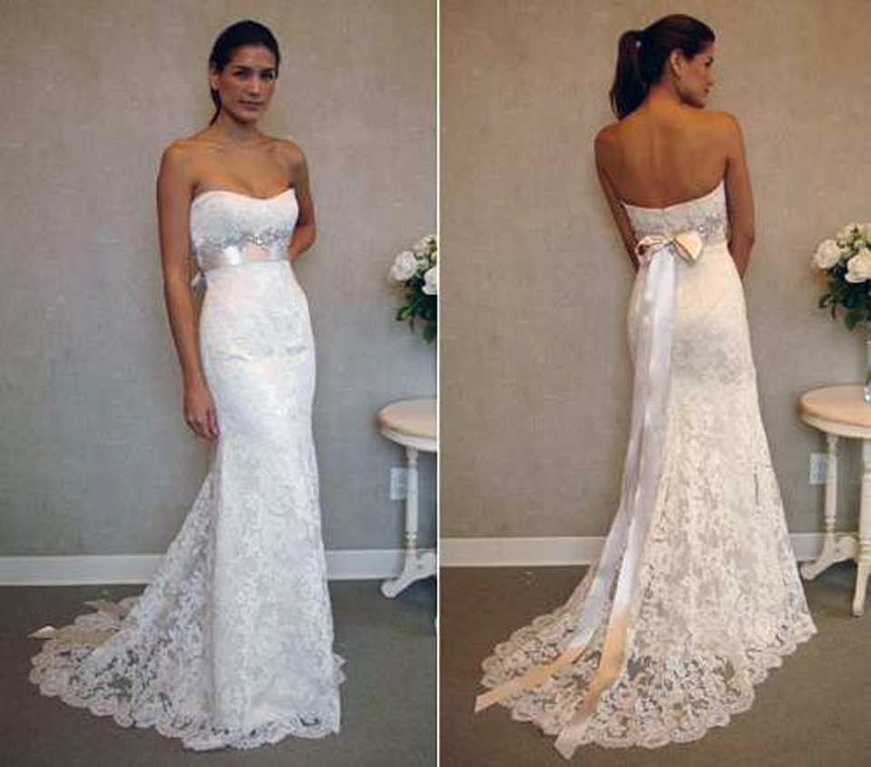 Trumpet Wedding Dresses Sweetheart Neckline