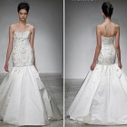 Trumpet Wedding Dresses With Beading Pictures