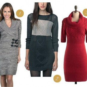Tunic Sweater Dress 2013 Pictures