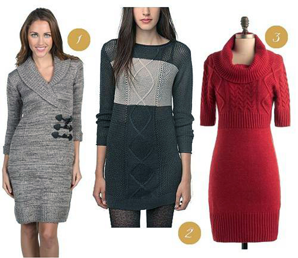 Tunic Sweater Dress 2013