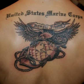 Usmc Eagle Globe And Anchor Marine Tattoos Pictures