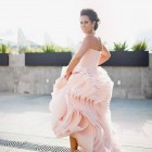 Vera Wang Pink Wedding Dresses Designs Pictures