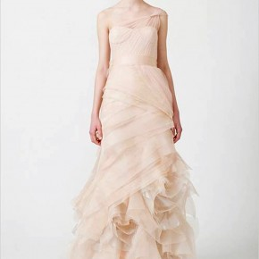 Vera Wang Pink Wedding Dresses Pattern Pictures