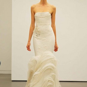 Vera Wang Wedding Dress, Fall 2013 Bridal Show