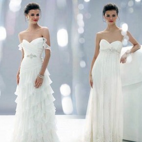 Very Feminine Wedding Dresses Design Pictures
