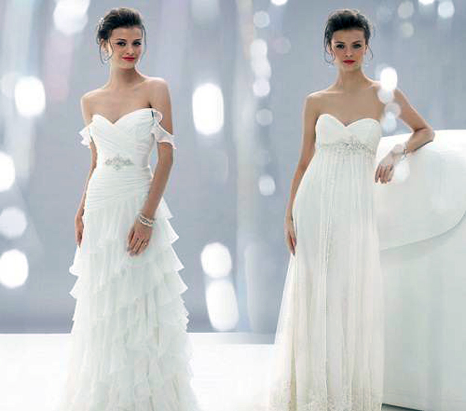 Very Feminine Wedding Dresses Design