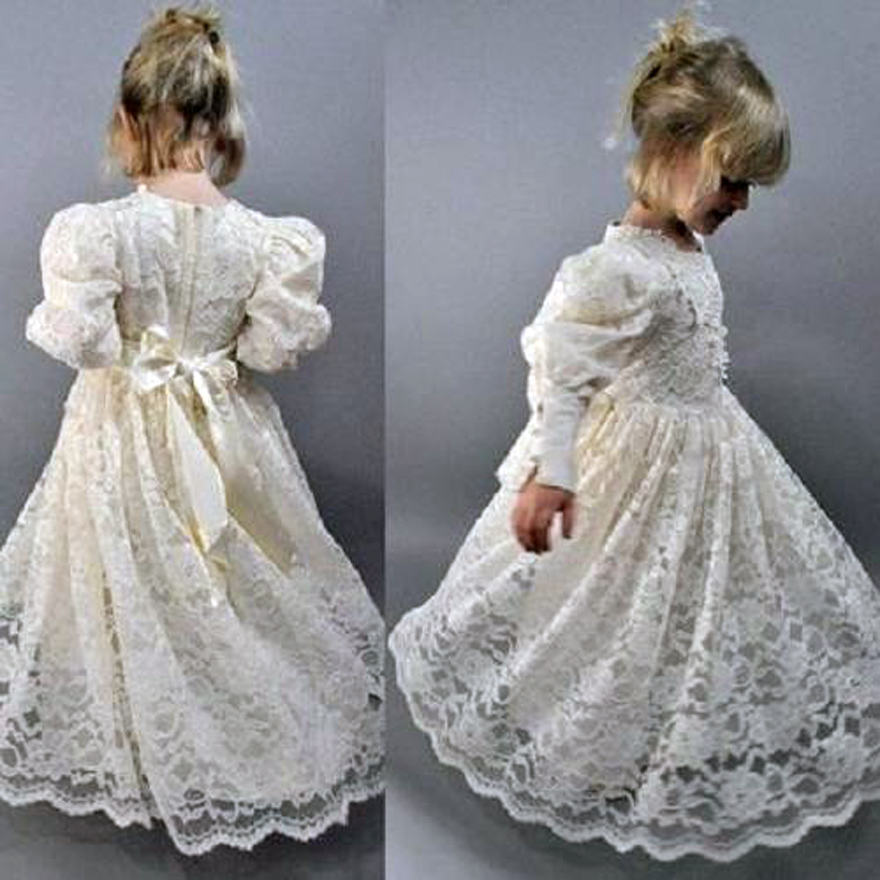 3f28bc451b Victoria Flower Girl Dresses Lace - Inofashionstyle.com