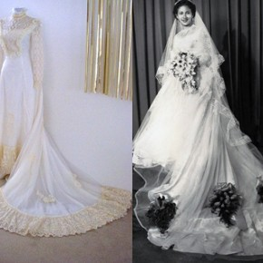 Victorian Inspired Wedding Dress Designs Pictures