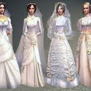 Victorian Inspired Wedding Dress Ideas Pictures