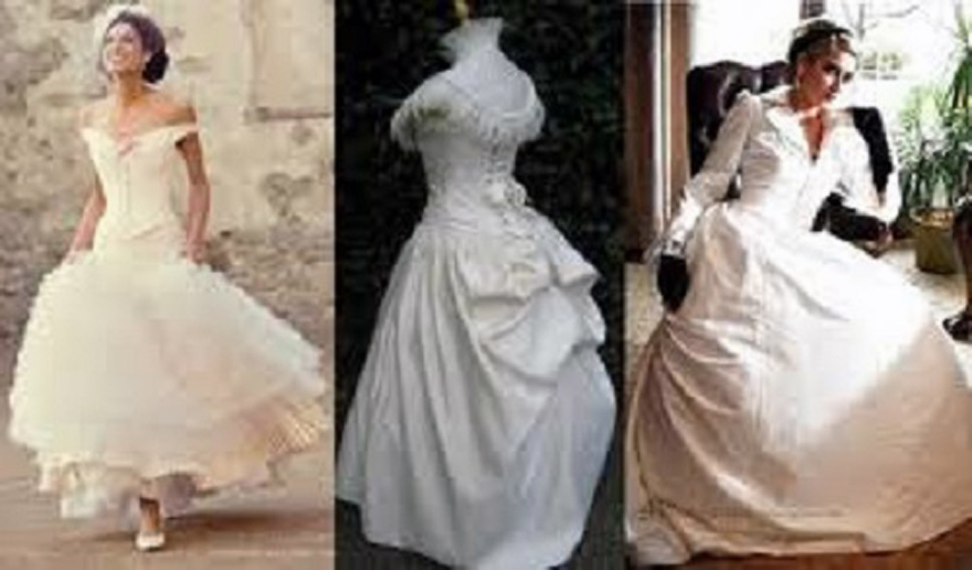 Victorian inspired wedding dresses for Victorian style wedding dress