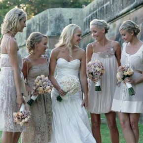 Vintage Bridesmaid Dresses Online Pictures