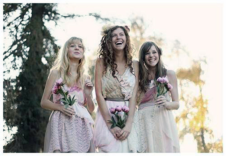 Vintage Bridesmaid Dresses Patterns