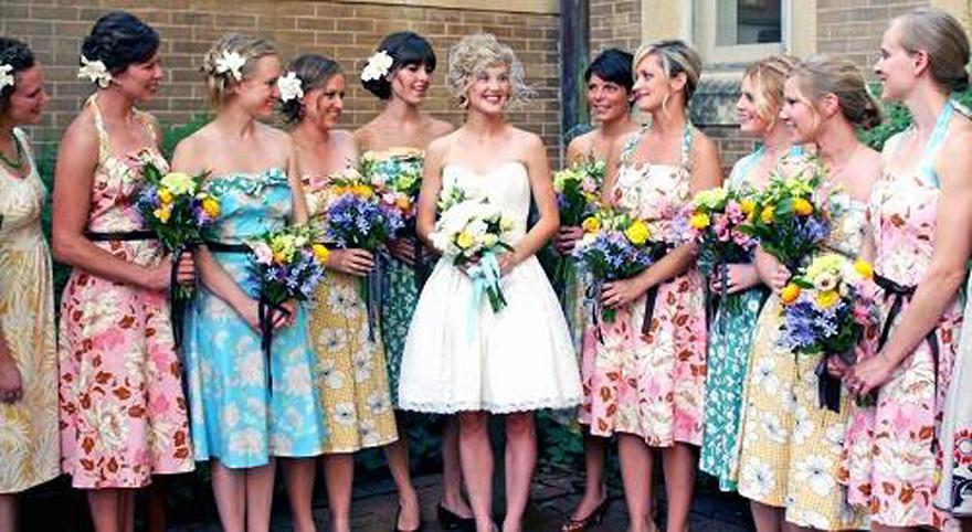 Vintage Bridesmaid Dresses Uk