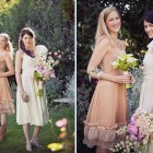 Vintage Bridesmaid Dresses With Lace Pictures