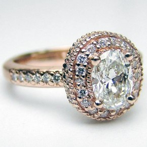 Vintage Engagement Rings Gold Pictures