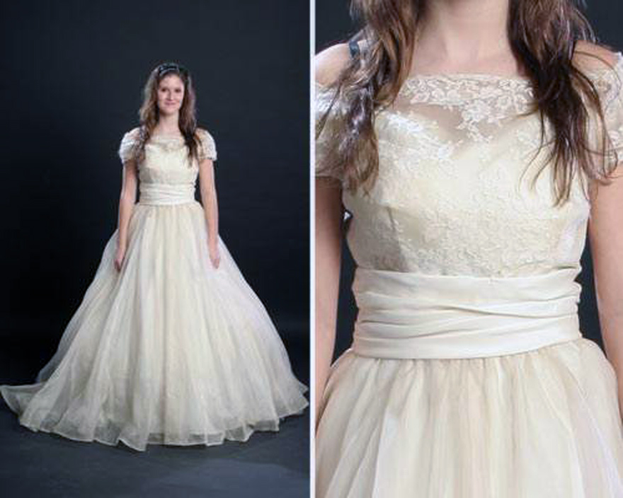 Vintage wedding gowns plus size for Vintage wedding dresses plus size