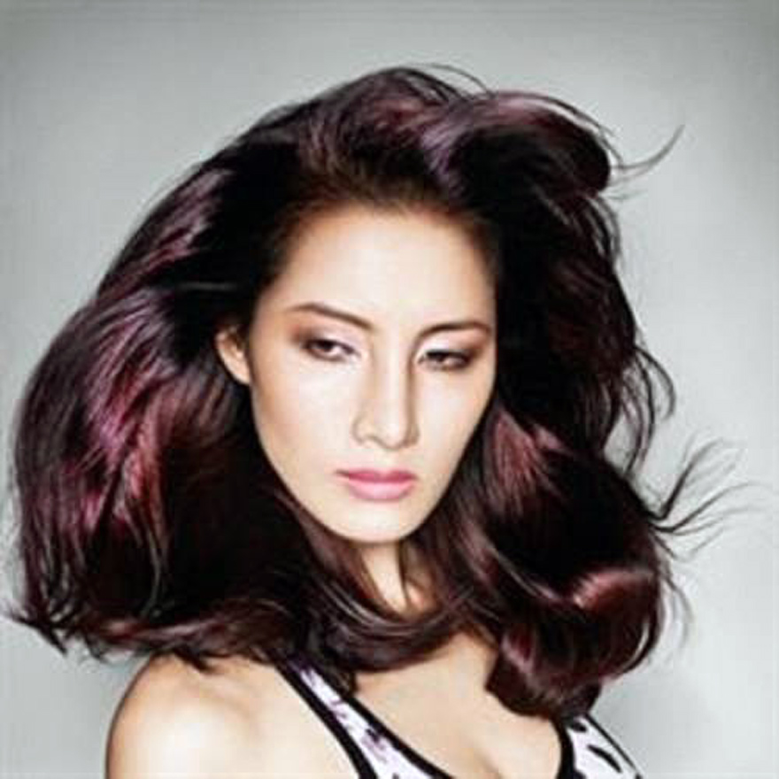Violet Brown Hair Color Images Inofashionstyle Com