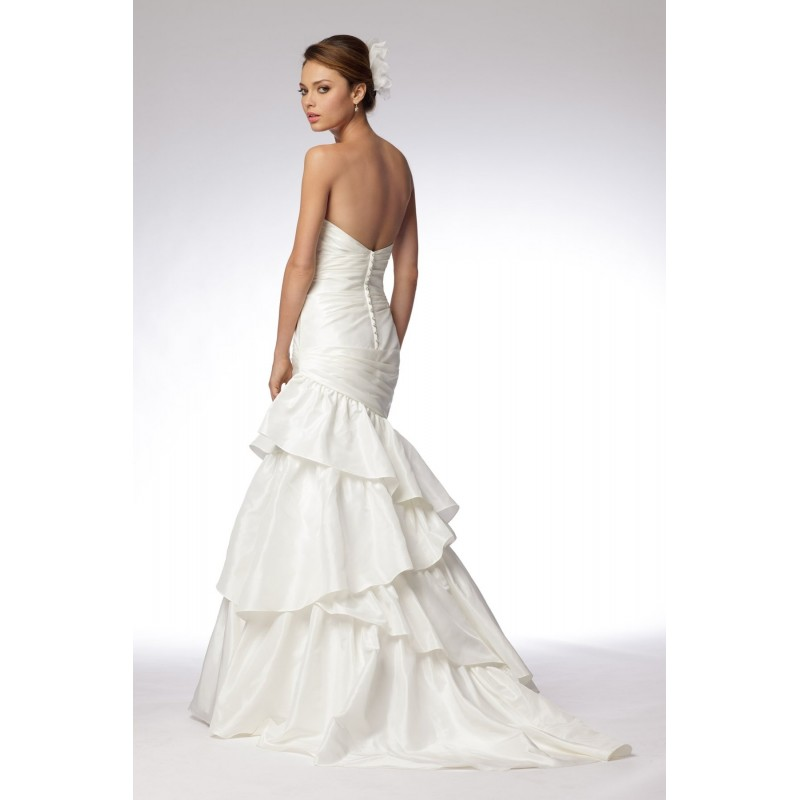 Wedding Dress Patterns, Three Layers Strapless Wedding ...