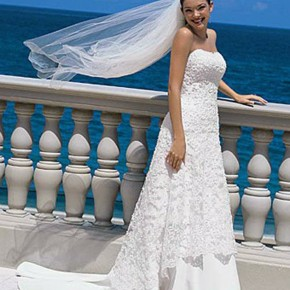 Wedding Dress Styles On The Beach Images Pictures