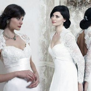 Wedding Dresses With Sleeves 2013 Pictures
