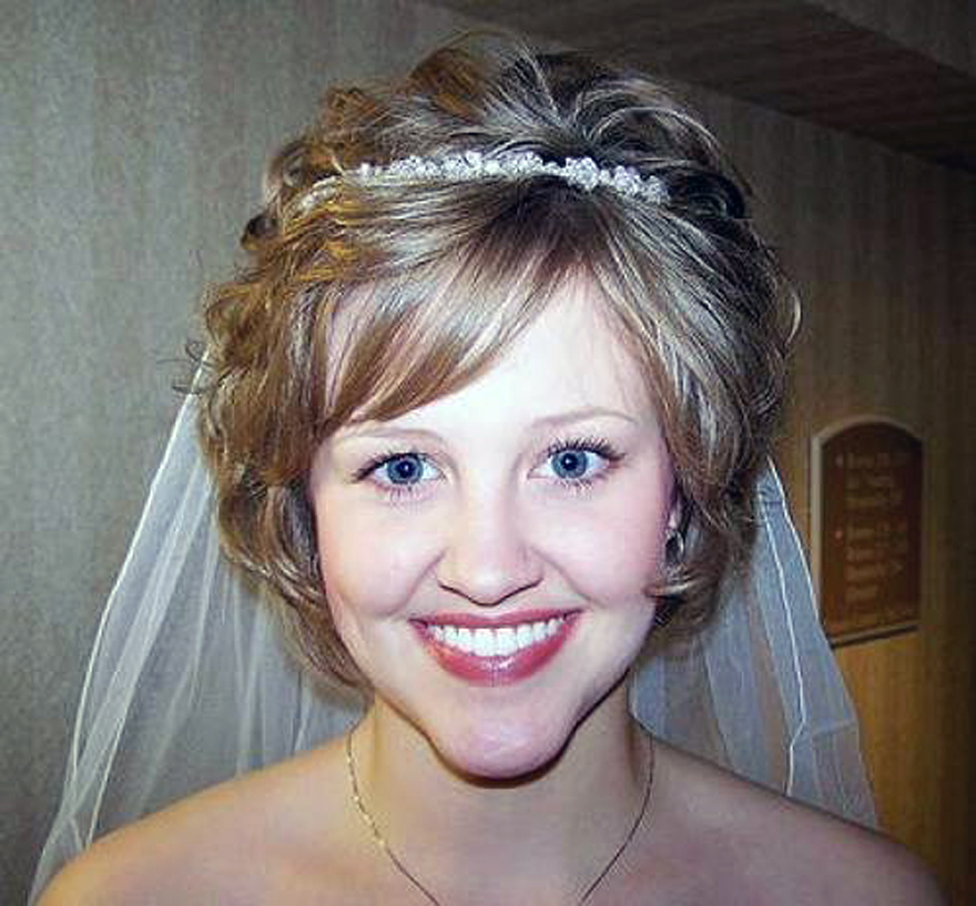 Wedding Hairstyle Short Curly Hair 2013