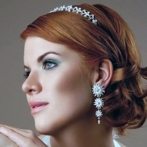 Wedding Hairstyle Short Curly Hair Ideas Pictures