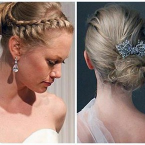 Wedding Hairstyle Updos Braided Pictures