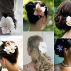 Wedding Hairstyle With Flowers Models Pictures