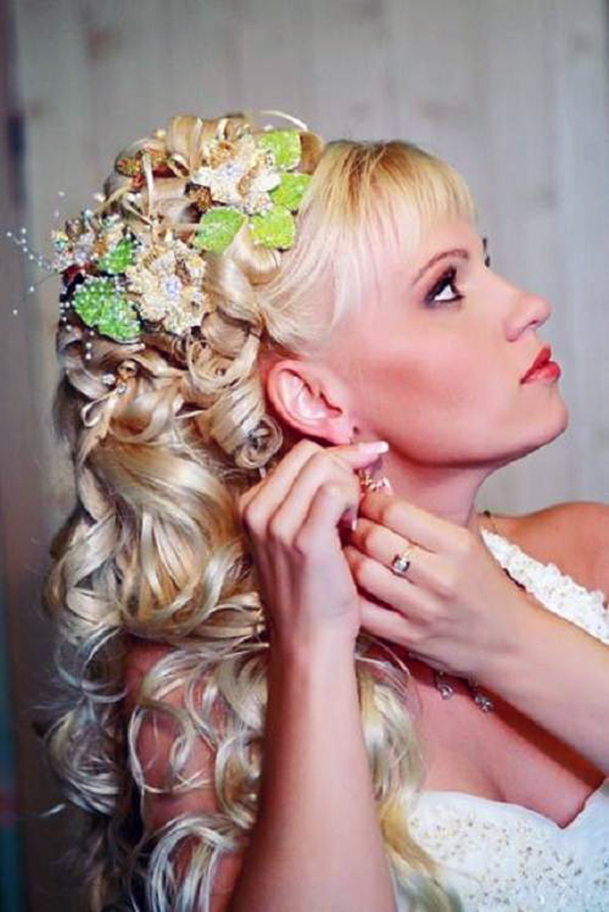 Wedding Hairstyles Down Curly Images