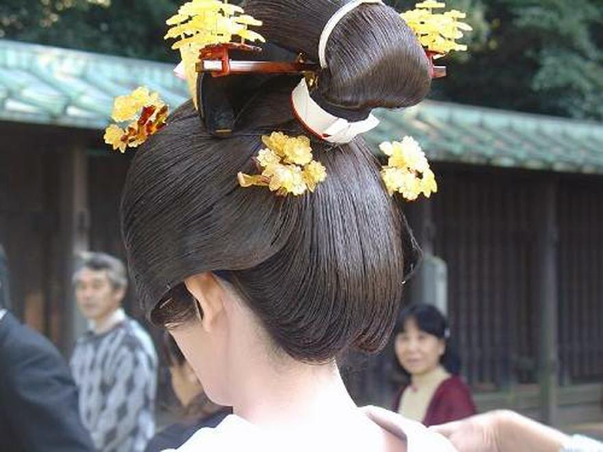 Wedding Hairstyles Japanese Cuts