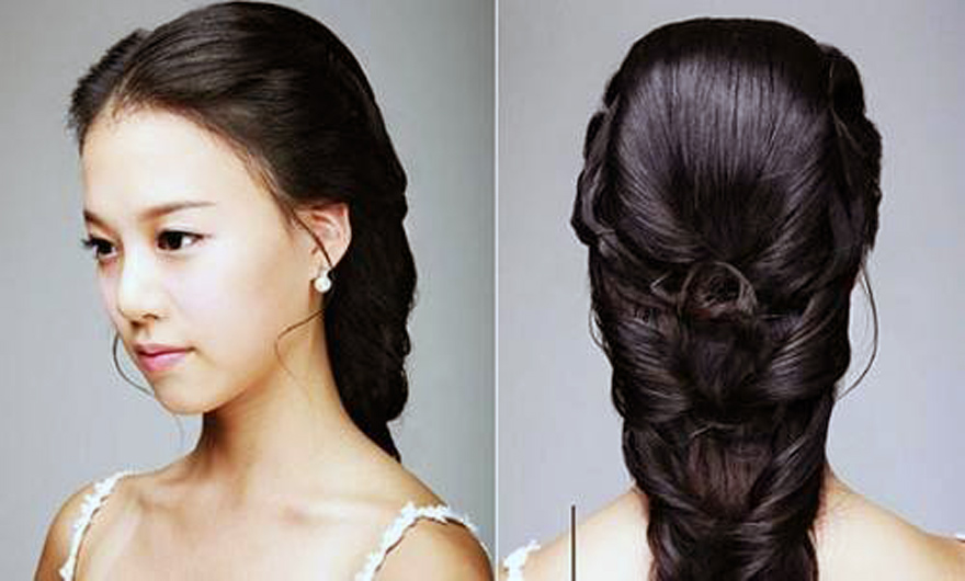 Wedding Hairstyles Korean 2013 Pictures : Fashion Gallery