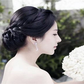 Wedding Hairstyles Korean Simple Pictures