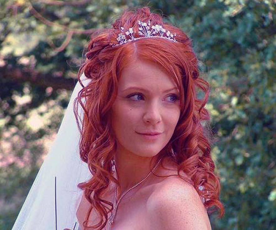 Wedding Hairstyles Red Hair Ideas Inofashionstyle Com