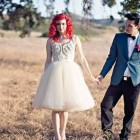 Wedding Hairstyles Red Hair Images Pictures