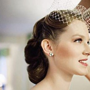 Wedding Hairstyles Retro Bride Pictures