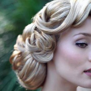 Wedding Hairstyles Retro Styles Pictures