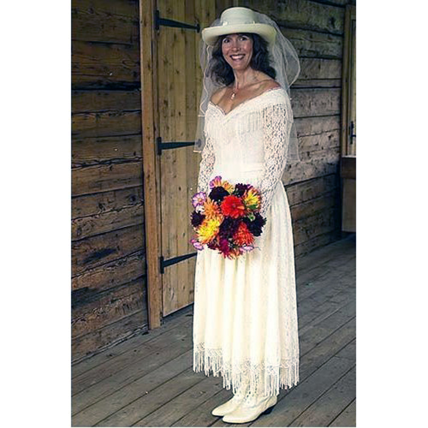 Western Wedding Dress For Women