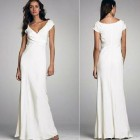 White Beach Wedding Dresses Casual Images Pictures