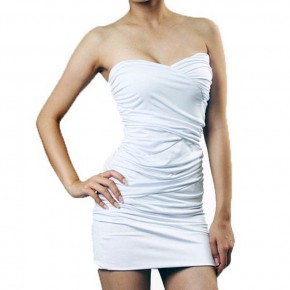 White Club Dress Images Pictures