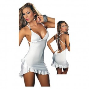 White Club Dress Sexy Pictures