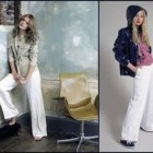 White Linen Pants Outfits Images Pictures