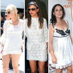 White Summer Dresses For Women 2013 Pictures